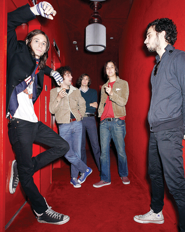 The Strokes / Photo by Sebastian Mlynarski/Getty