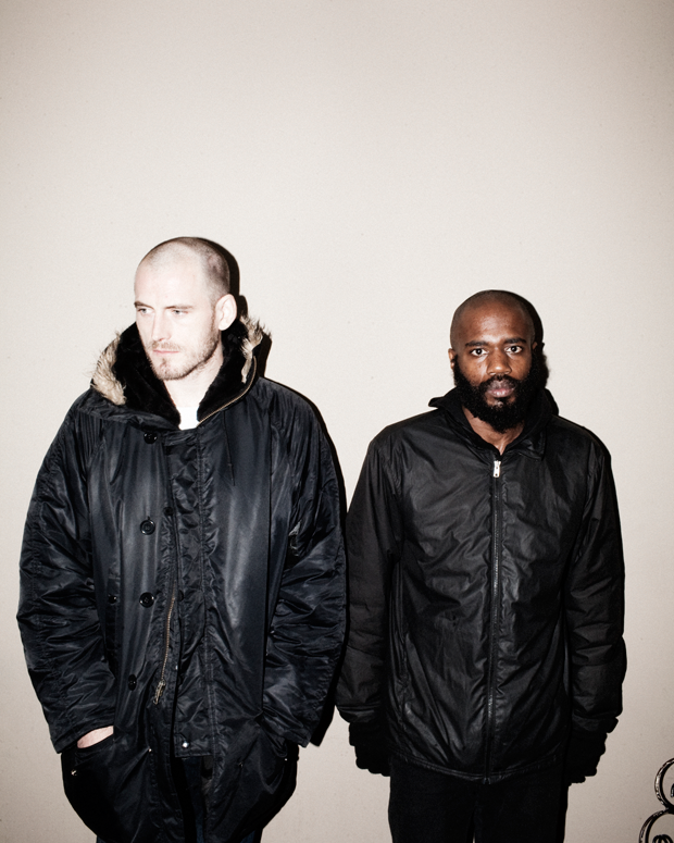 Death Grips / Photo by Jimmy Fontaine