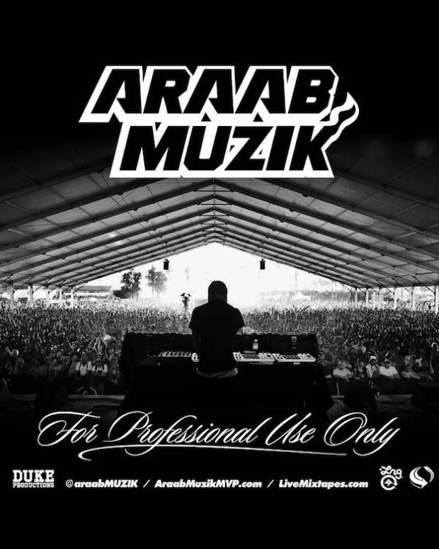 AraabMuzik, For Professional Use Only, mixtape