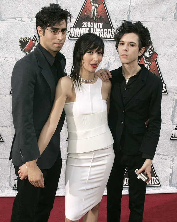 Yeah Yeah Yeahs at the 2004 MTV Movie Awards / Photo by Jeffrey Mayer/WireImage