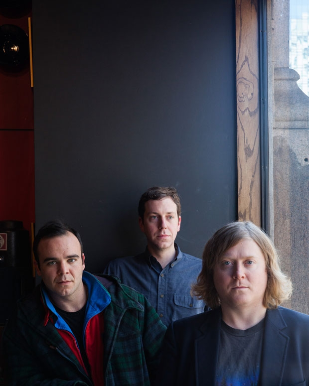 Future Islands in New York City, February 2014 / Photo by Rebecca Smeyne for SPIN