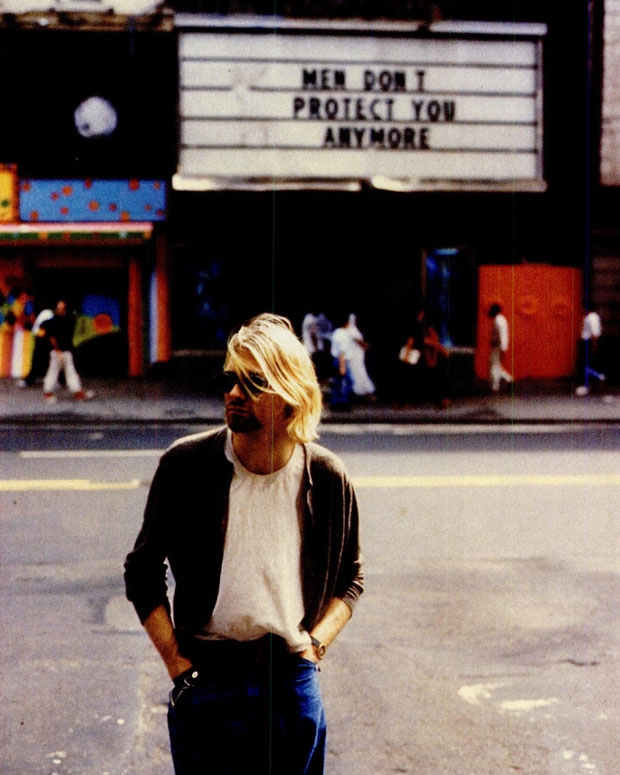 Cobain in New York City, 1993