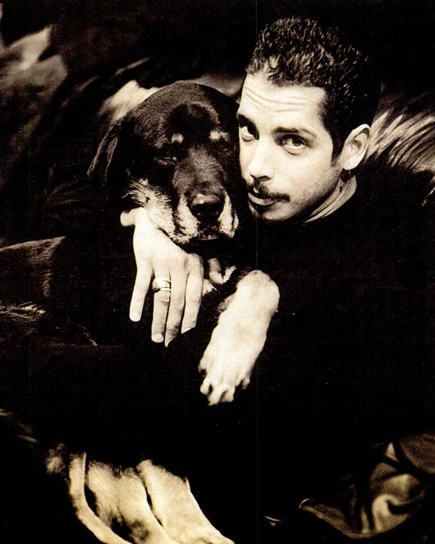 Cornell and his Pooch Bill / Photo by Kevin Westenberg