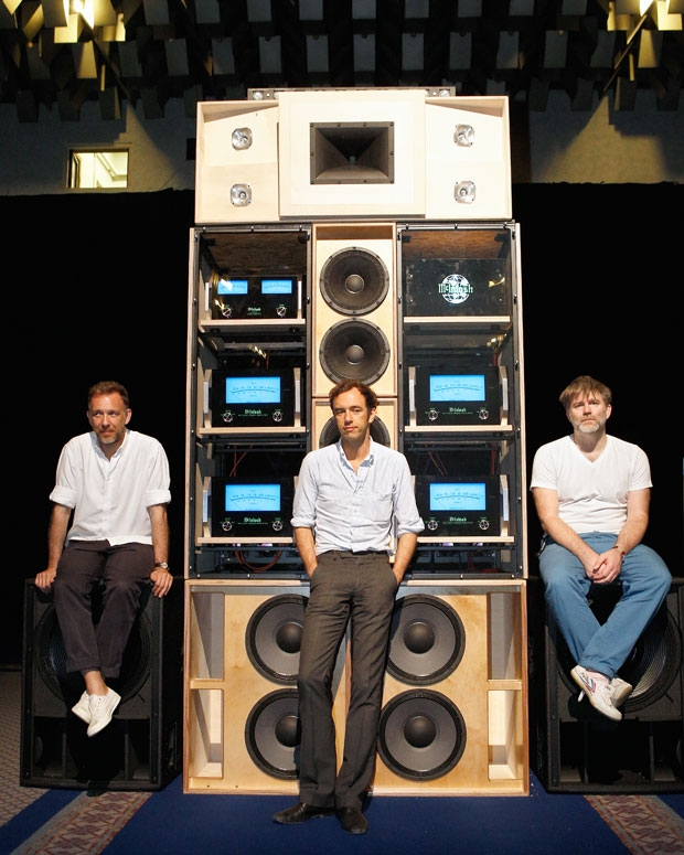 2ManyDJs and James Murphy / Photo by Rod Lewis