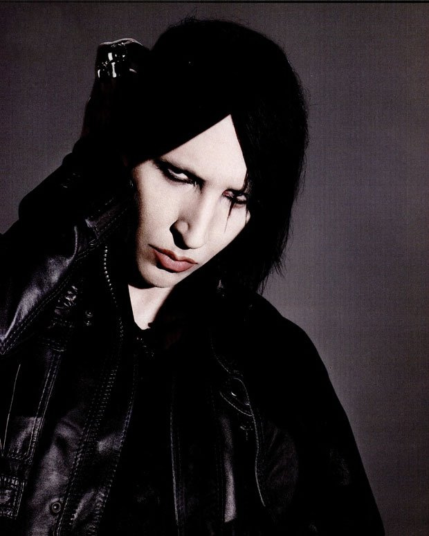 Manson in 1997 / Photo by Richard Burbridge for SPIN