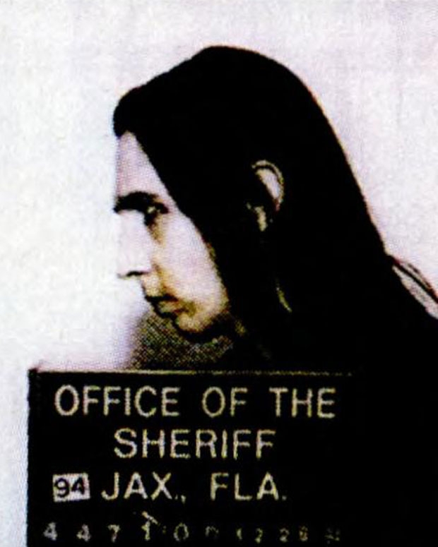 A 1994 mug shot / Photo by WENN