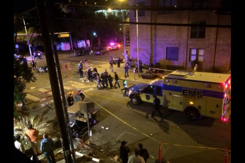 SXSW Car Crash Sandy Le Dead Victims