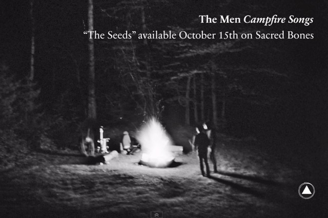 The Men Campfire Songs Acoustic EP Seeds Sacred Bones