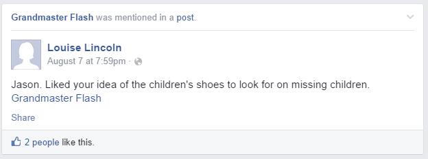 Grandma Grandmaster Flash Facebook Tag Accidental Tagging