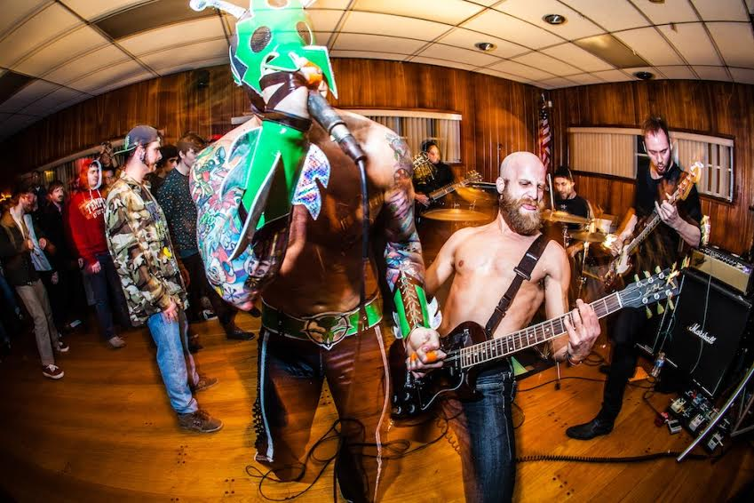 "UltraMantis Black Bring Militant Hardcore to ""Biomonster DNA"" Video"