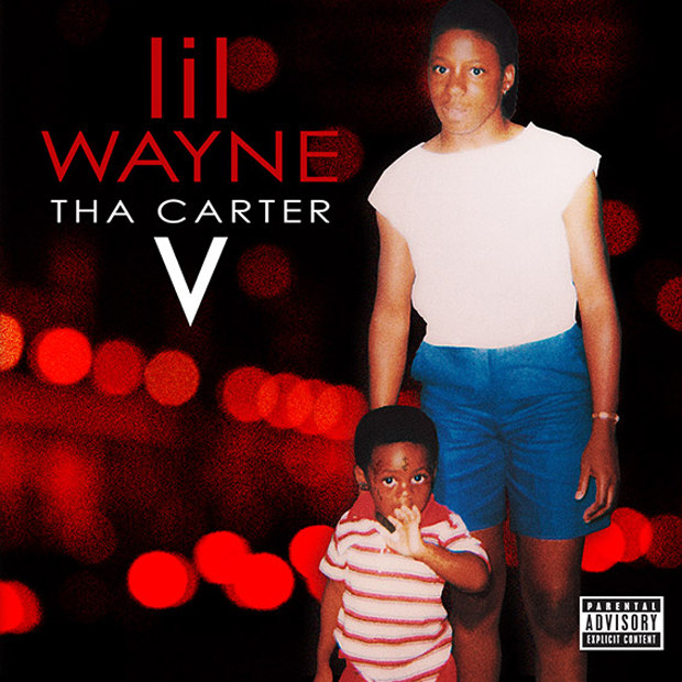 lil wayne, tha carter 5, cover art